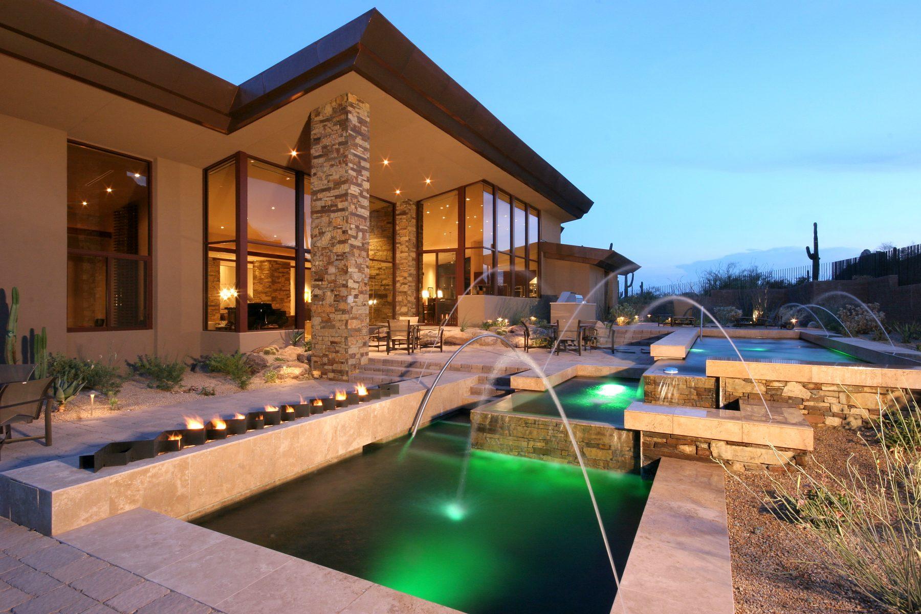 Arizona Golf Community Luxury Homes   The O Malley Group Real Estate. Luxury Lighting Az. Home Design Ideas